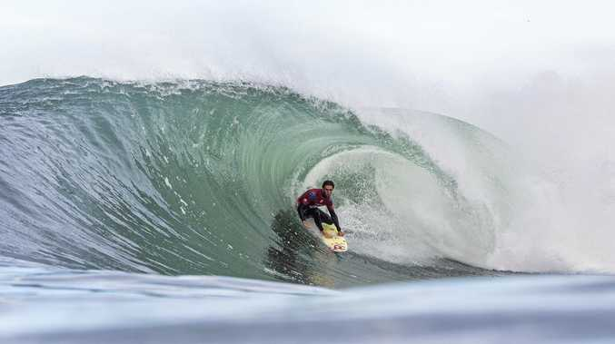 GONE: Byron Bay surfer Matt Wilkinson was eliminated in the second round of the Rio Pro.