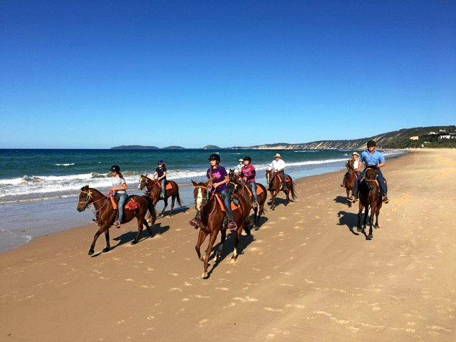 The 2018 Gympie Show International Barrel Racing crew spend some time seeing the sights around the region.