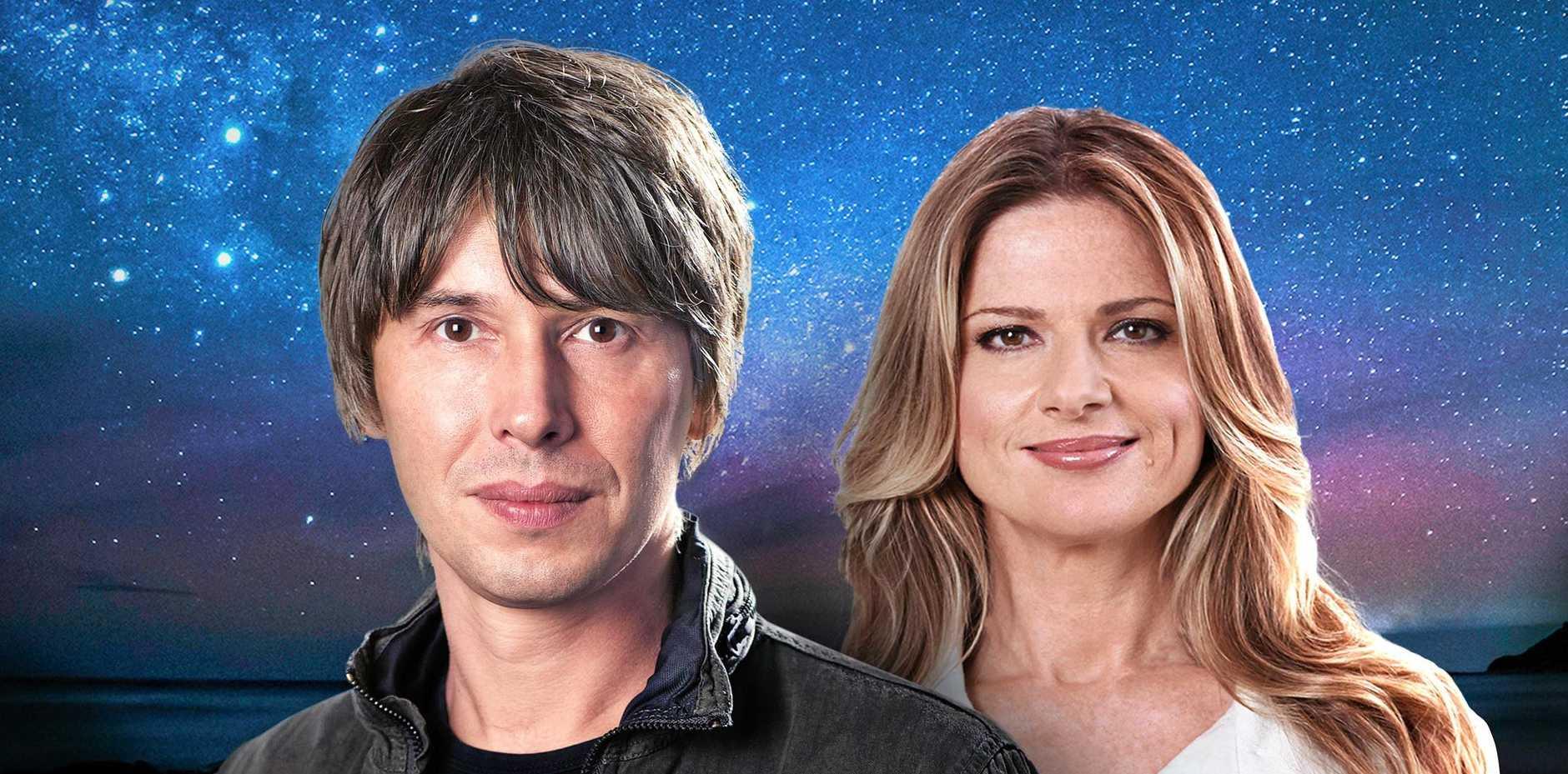 Professor Brian Cox and Julia Zemiro return to host a second year of Stargazing Live.