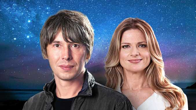 Professor Brian Cox and Julia Zemiro return to host a second year of Stargazing Live.
