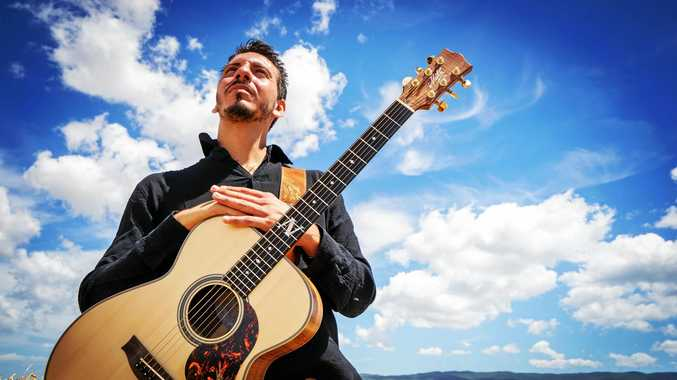 MOLTO BENE: Italian acoustic guitarist Andrea Valeri will be one of three performers featured in the guitar spectacular.