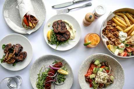 NEW EATS: ENA Greek street food is the latest addition to be confirmed for Sunshine Plaza's Riverwalk dining precinct, due to open in July this year.