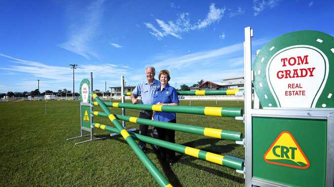 PROUD SUPPORTERS: Tom and Lyn Grady are keenly anticipating this year's Gympie Show.