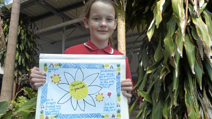 BULLIEVABLY GOOD: Year 5 student Amelie Collard was one in 13 highly commended entries recognised at Government House in Sydney for her anti-bullying poster.
