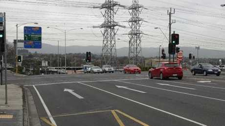 Locals say the intersection is notoriously dangerous. Picture: David Crosling