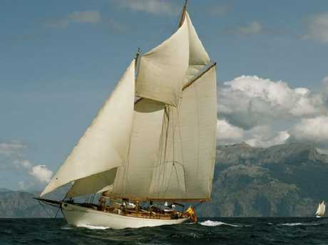 A 1937 sailboat owned by Acciona shareholder, and brother of Jose Manuel Entrecanales, Bruno Entrecanales.