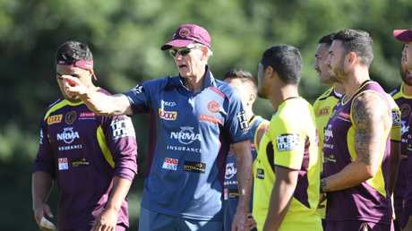 Bennett told reporters after the Manly loss his young forwards struggle to get 'up' each week.