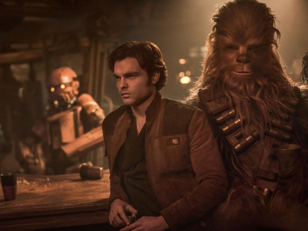 BEST BUDS: Find out how Han and Chewie met in this Star Wars prequel.