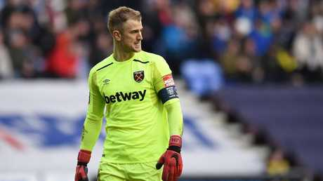 Joe Hart has been underwhelming since joining West Ham on loan from Manchester City.