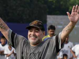 Maradona named chairman of Belarus club
