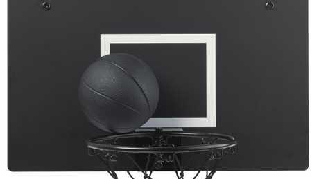 The SPÄNST basketball hoop and ball, $49.
