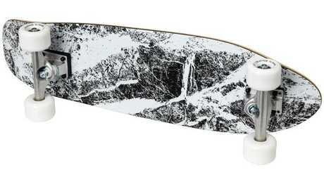 The SPÄNST skateboard features graphic design from Maja Ganszyniec, $99.