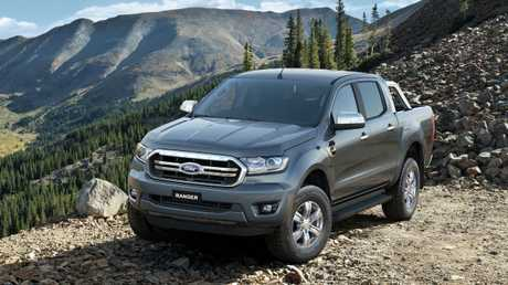 "The Ford Ranger ""PXIII"" update due is in Australia n showrooms in September. Picture: Ford-supplied computer-generated image."
