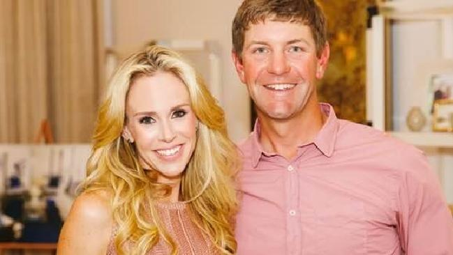 Lucas Glover tried to convince officers not to arrest his wife, Krista.