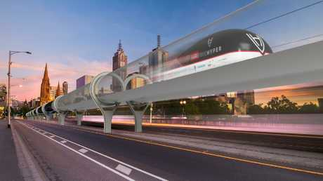"""""""We talk about suburban trains and at the other extreme Hyperloop (above); maybe there is something in between?"""