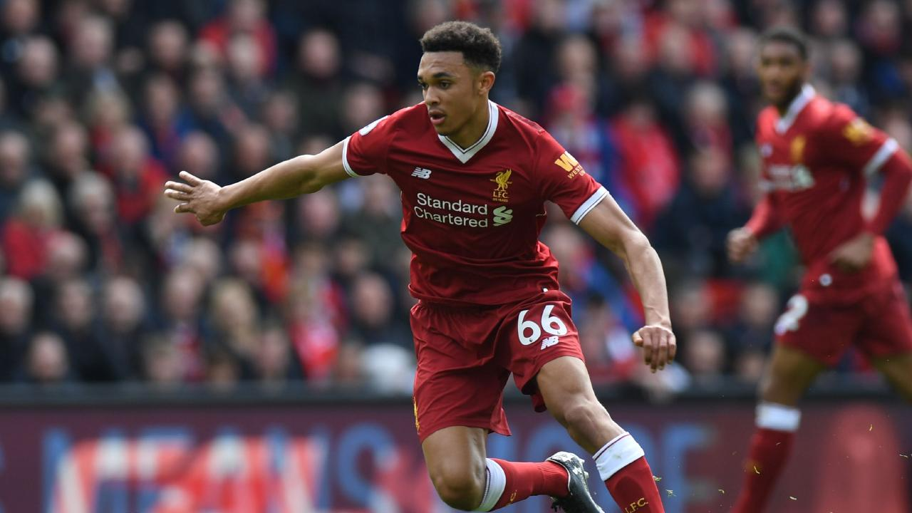 Young Liverpool fullback Trent Alexander-Arnold has been called up to England's World Cup squad.