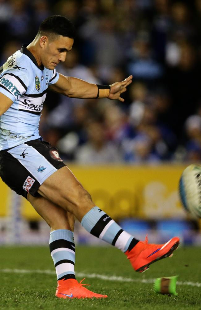 Valentine Holmes could be pushed on to the left wing for Queensland. .Picture Gregg Porteous