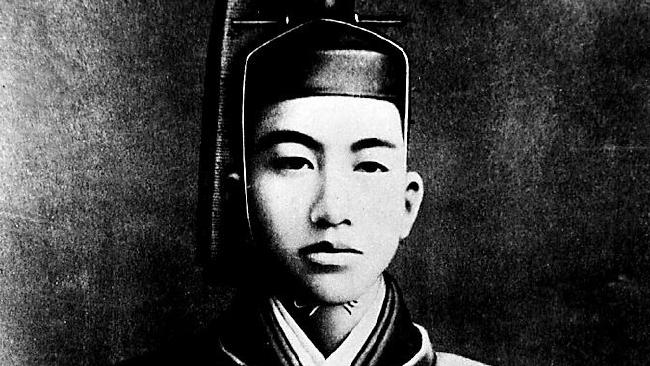 The former Japanese Emperor Hirohito.