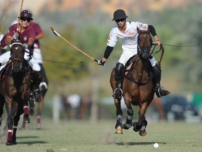 José Entrecanales on the polo field. Picture: Pololine