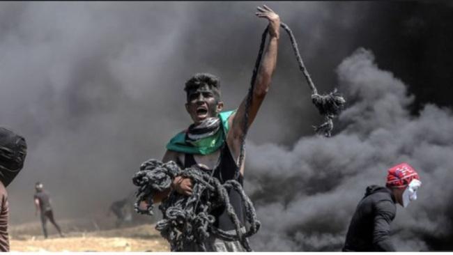 Rage in Gaza