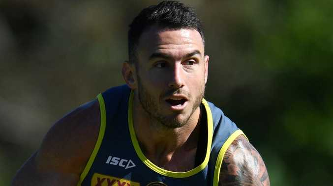 Darius Boyd is under pressure to retain his place in the Queensland line-up. Photo: AAP Image/Darren England
