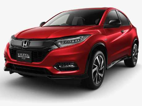 Updates to the Honda Vezel sold in Japan should give an indication of what's in store for the HR-V. Picture: Supplied
