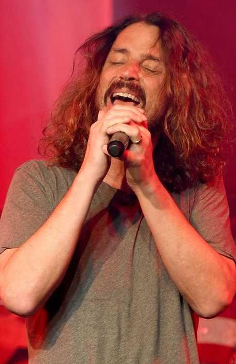 Chris Cornell died after performing with his band Soundgarden in Detroit on May 18, 2017. Picture: AFP