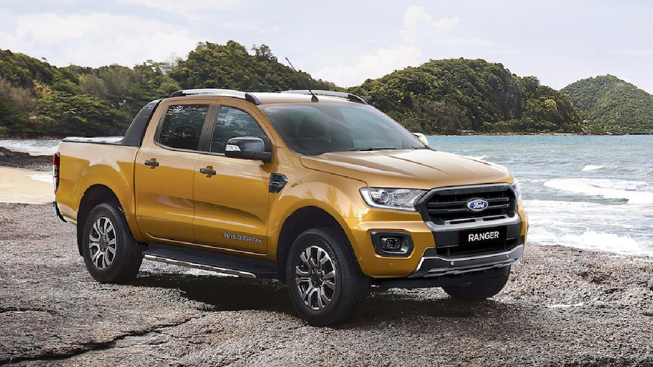 "The visual changes are subtle on the Ford Ranger ""PXIII"". Picture: Ford-supplied computer-generated image."