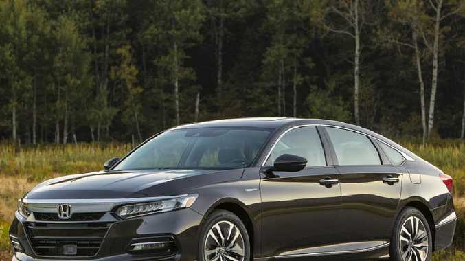 Honda plans to have the Accord on sale in Australia late next year. Picture: Supplied