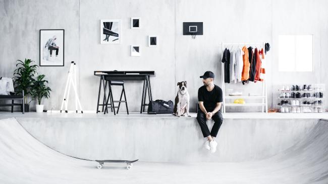 The new SPÄNST range blends streetwear and homewares.