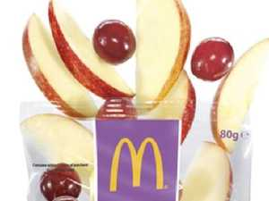 Mum slams Maccas for not cutting up grapes