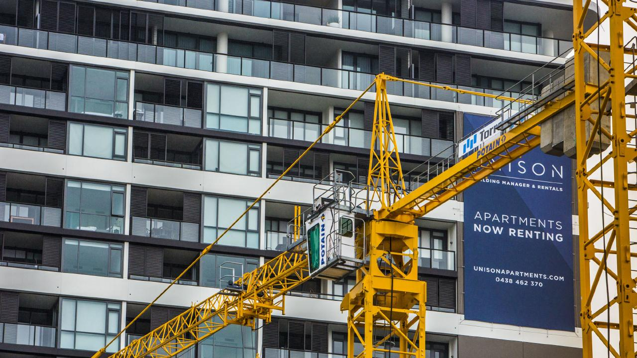 Nearly 20 per cent of Brisbane's apartments are empty following a construction boom. Picture: Glenn Hunt