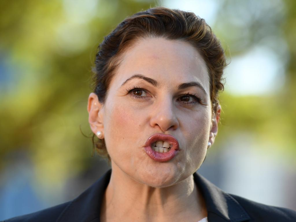 Queensland Treasurer Jackie Trad has taken exception to the LNP claims. Picture: AAP Image/Dan Peled