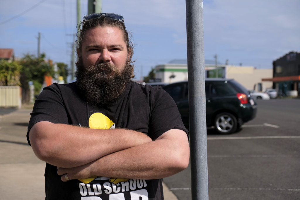 NOT TODAY: Taxi driver Jeremy Palethorpe fended off an armed passenger who held a knife to his throat. Photo: Tahlia Stehbens