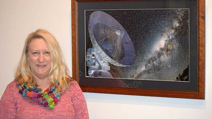 Exhibition: Gallery Director Karina Devine supports local art group exhibition currently on display at the Warwick Art Gallery.
