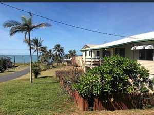 Shabbiest house on the street with a Cap Coast beach view