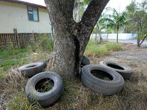 Residents tyre of Depot Hill dumpers
