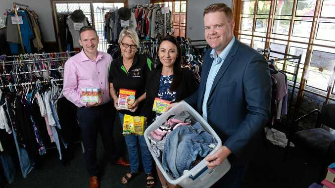 Steven Purcell, Helen Youngberry, Tracey Caruana and Steve Hodgson are joining forces to help Goodna Street Life