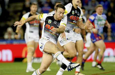 James Maloney caused problems for the Maroons last year.