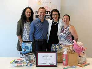 Care packs to help families fleeing domestic violence