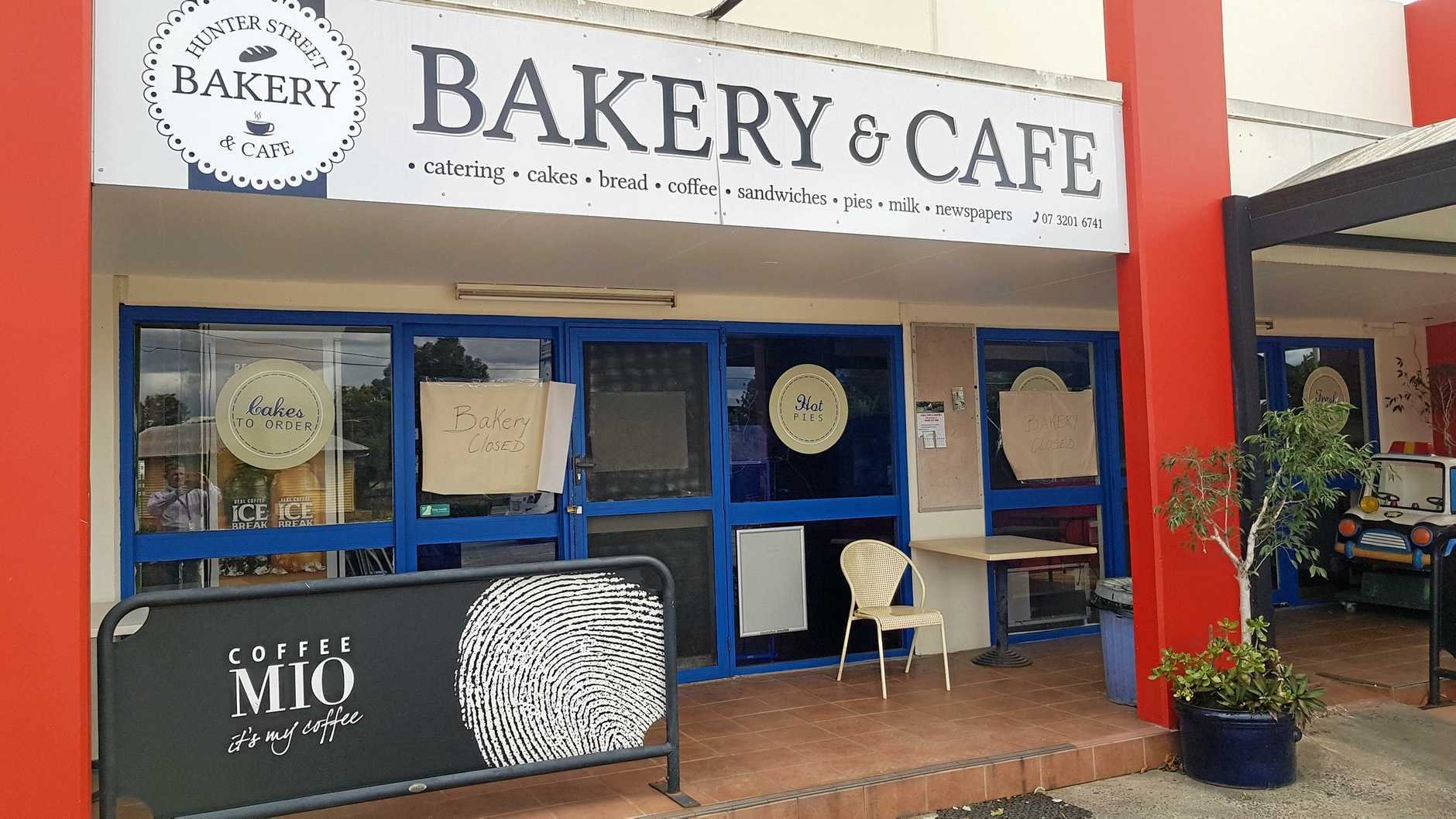 The Hunter Street Bakery remains closed, but it is best known as the old Billy Mac's Bakery.