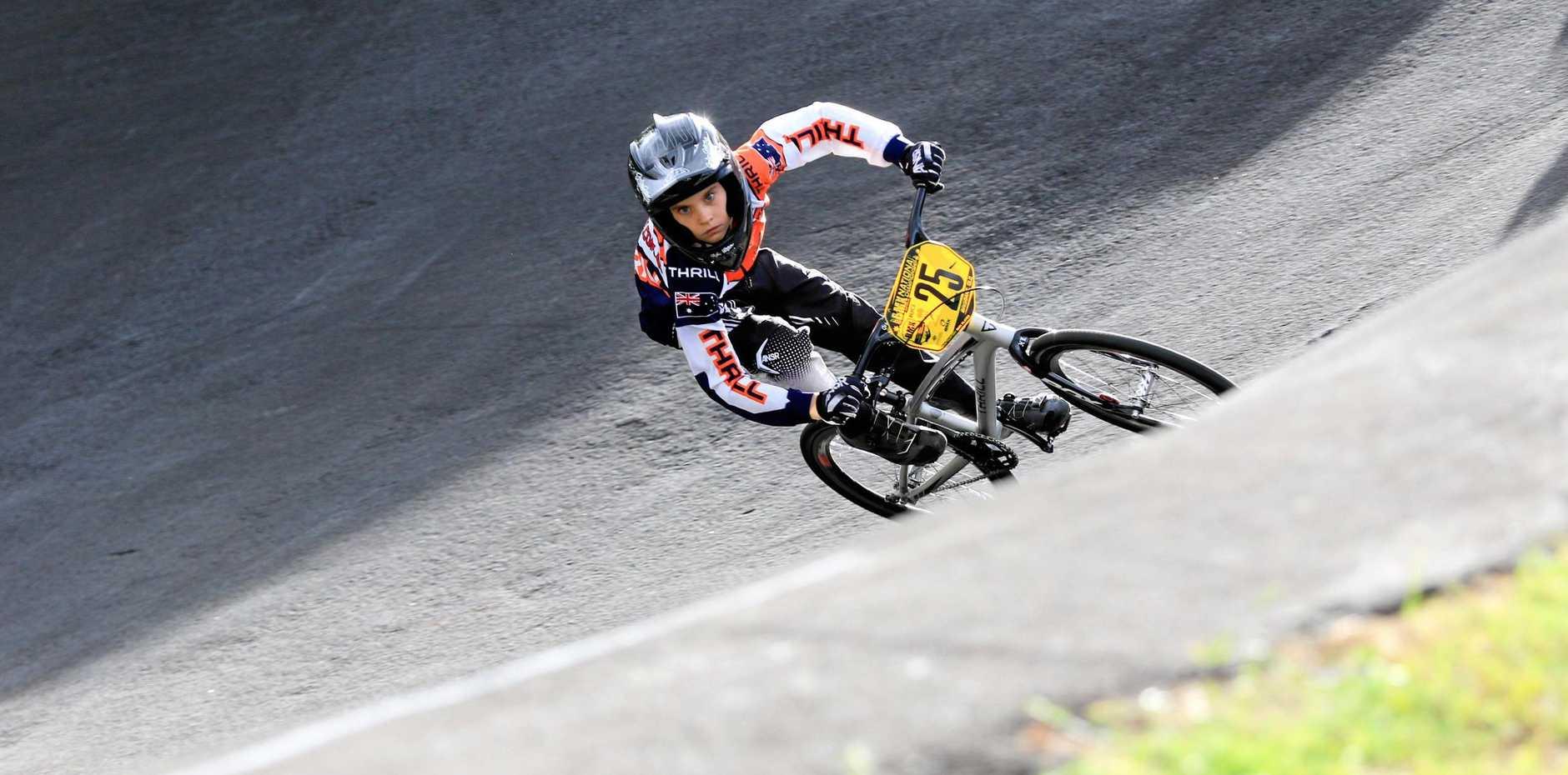 Moranbah BMX Club rider Oliver Rivers