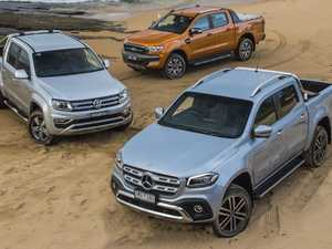 Ultimate high-end ute comparision: X-Class v Ranger v Amarok