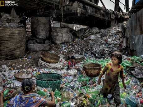 Nat Geo is running a campaign to help reduce our immense plastic waste. Picture: Randy Olson