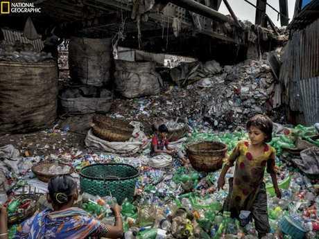 Nat Geo正在开展一项活动,以帮助减少我们巨大的塑料浪费。 图片:兰迪奥尔森