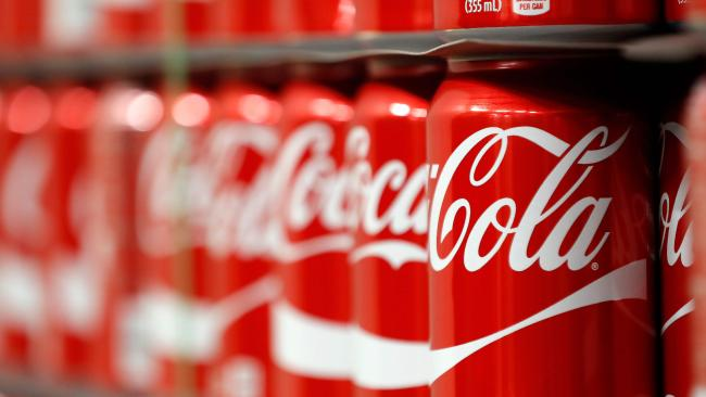 Coca-Cola Amatil has announced it's changing the recipe of some of its most popular drinks. Picture: AFP/Getty Images