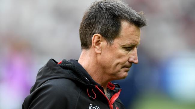 Essendon coach John Worsfold is under massive pressure.