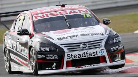 Simona De Silvestro in action at Symmons Plains.