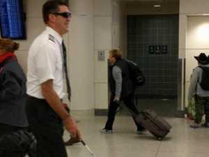 'Poor taste': Pilot pranks passengers