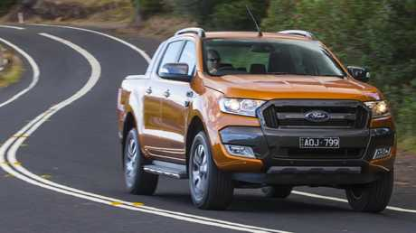 The Ford Ranger Wildtrak is due to get updated in September but it is still the benchmark in the class. Picture: Mark Bean.